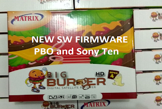 New SW Firmware Matrix BIG Burger HD