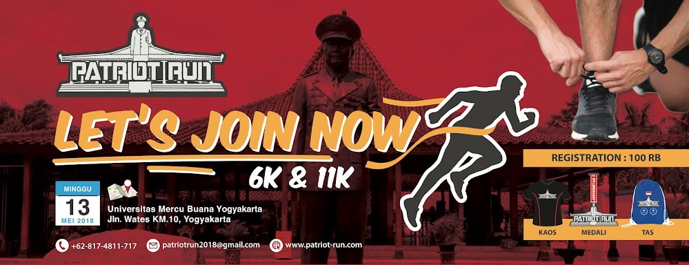 Jogja Patriot Run • 2018