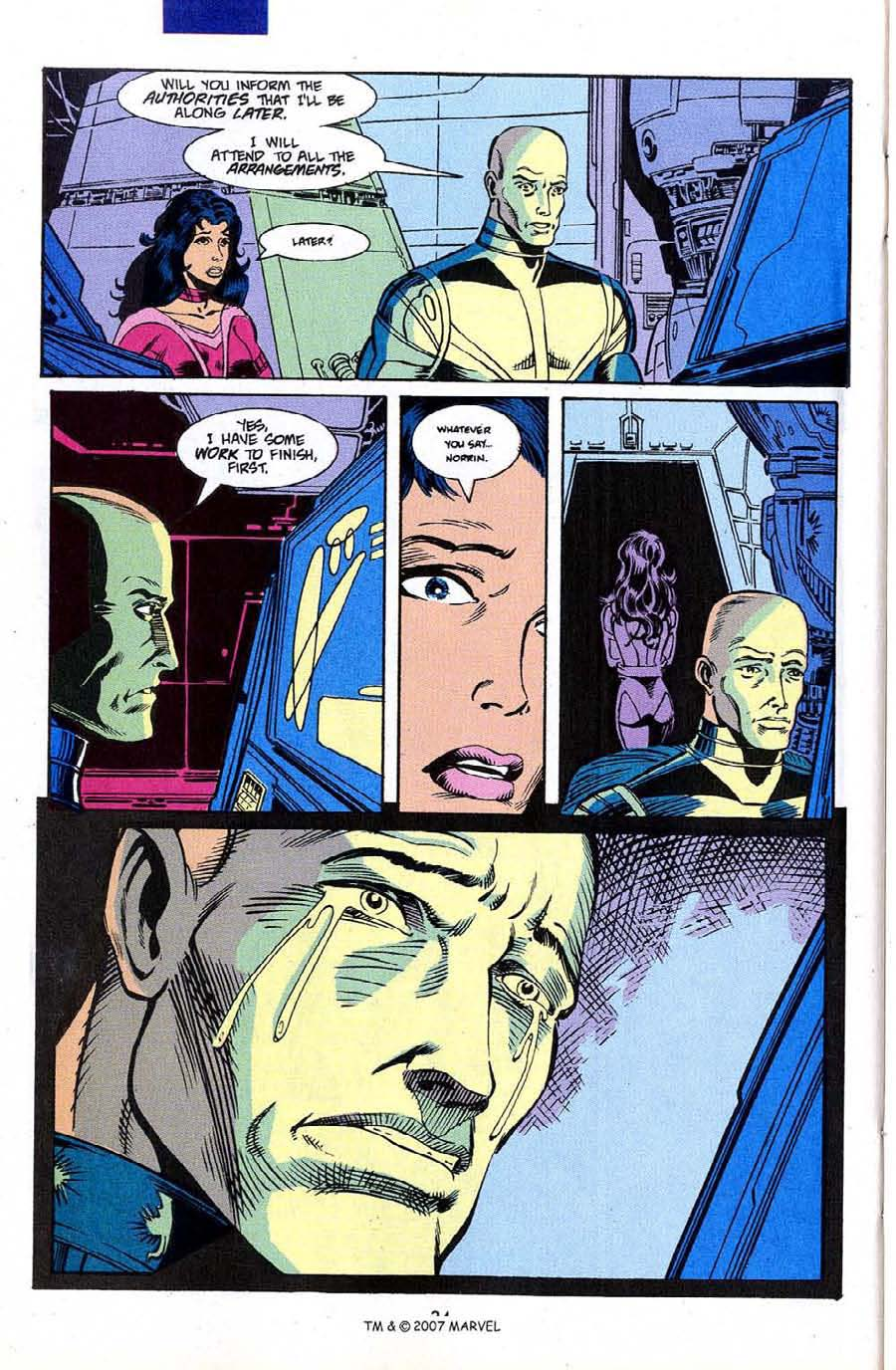 Read online Silver Surfer (1987) comic -  Issue #50 - 36