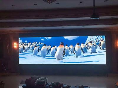 Nơi thi công màn hình led p2 trong nhà tại Vũng Tàu