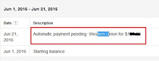 automatic payment pending pada akun adsense