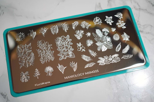 Maniology Mani X Me March Express Kit 2019 Aloha Beaches subscription