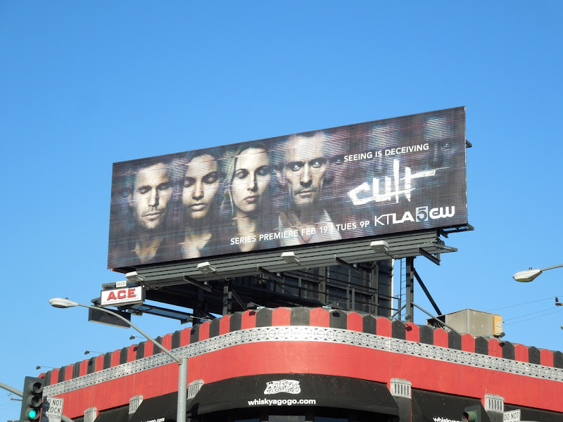 Cult CW TV billboard