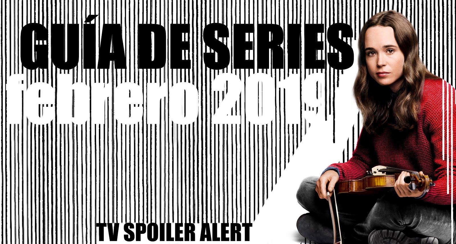 Guía de estrenos y regresos de series en febrero de 2019