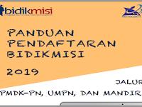 Pendaftaran Beasiswa Bidikmisi 2019 Jalur PMDK-PN UMPN dan Mandiri
