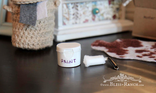Dollhouse Paint & Roller, Bliss-Ranch.com