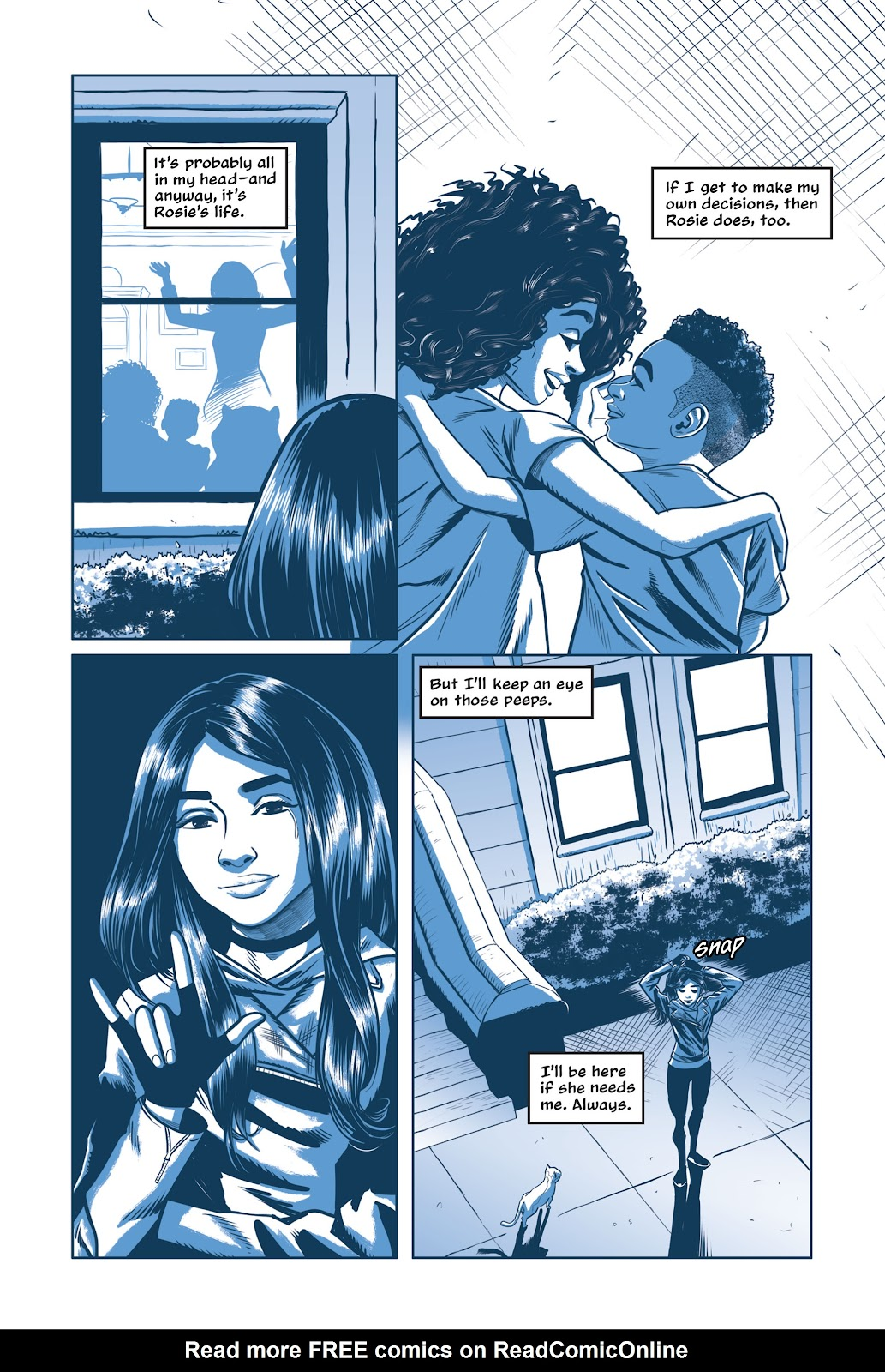 Read online Under the Moon: A Catwoman Tale comic -  Issue # TPB (Part 2) - 93