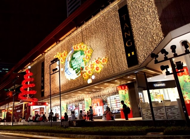 sk-ii first ever festive xmas lights up