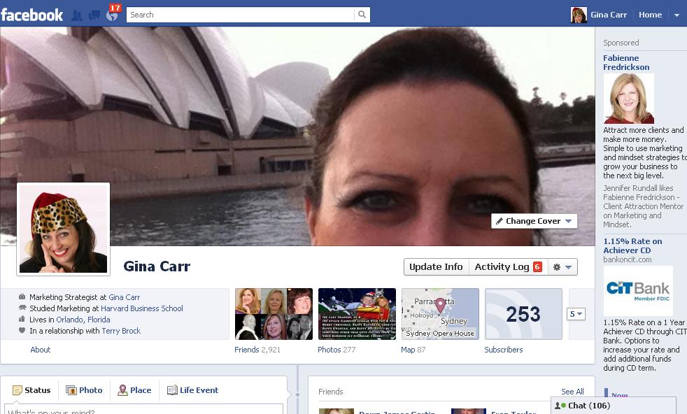 Facebook Marketing: New Timeline Cover Shots are Prime Real Estate