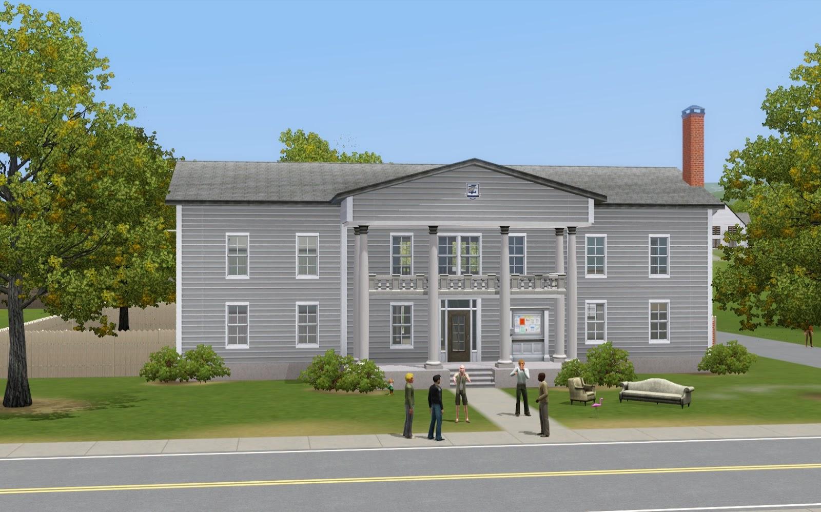 Summer's Little Sims 3 Garden: Sims University (The Sims 3