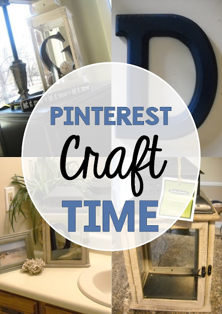 Don't just pin those crafty things! You need to actually try them! Here's a post about a really easy craft for your home that requires very little! Have fun designing your keepsake lantern!