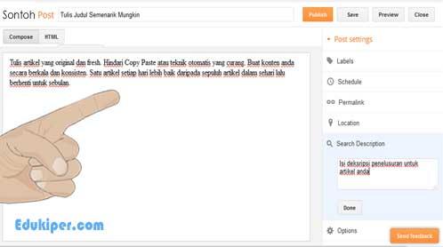 Cara menulis konten berkualitas dan menghasilkan uang dari google adsense