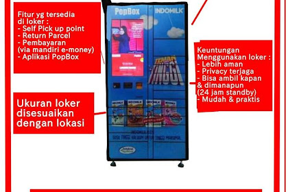 Sharing Session Sampai Mengenal PopBox Smartlocker Jaman Now