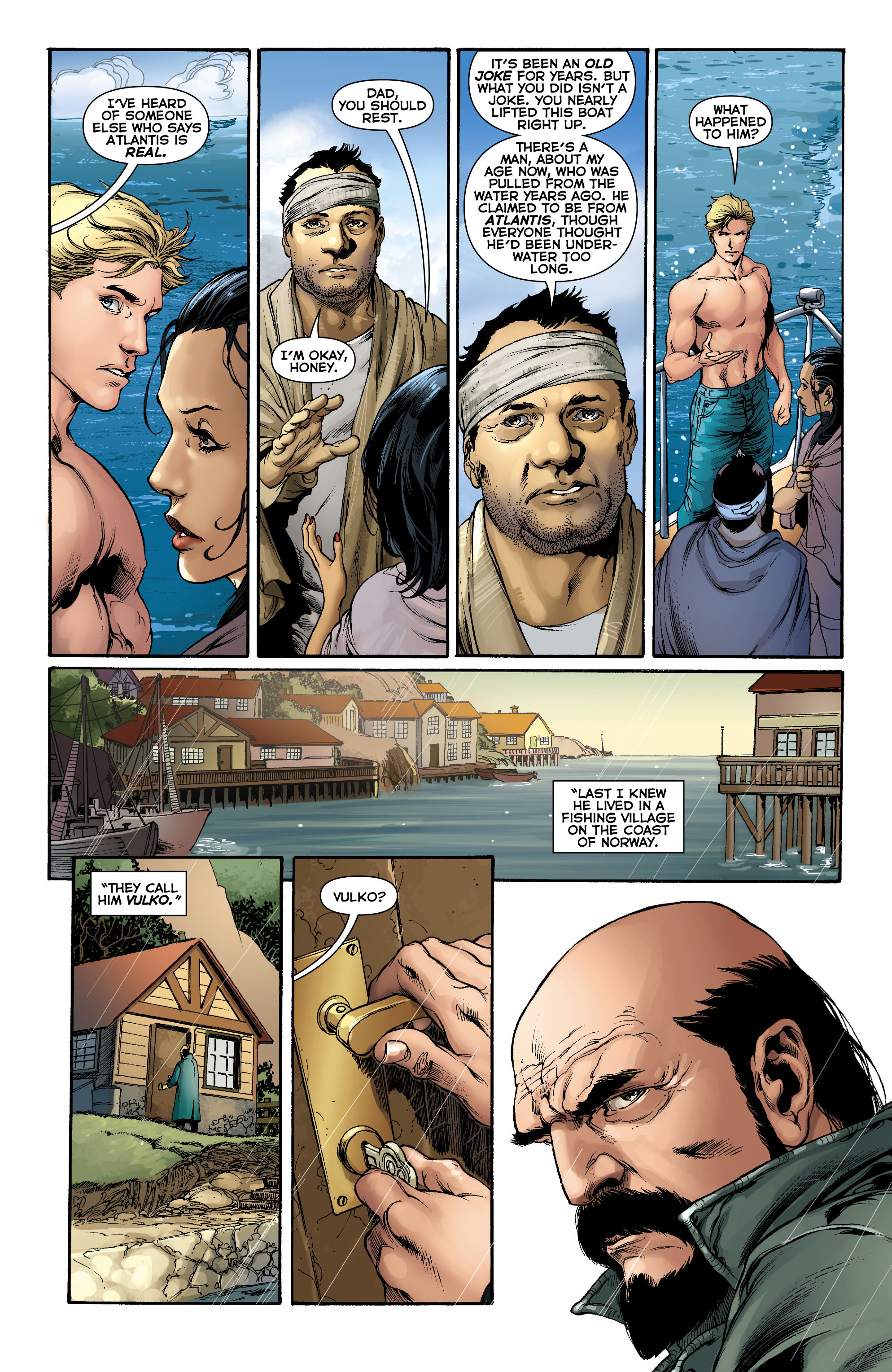 Read online Aquaman (2011) comic -  Issue #0 - 13
