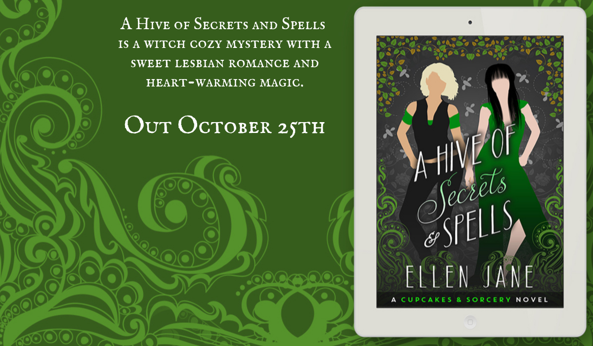 A Hive of Secrets and Spells Blog Tour