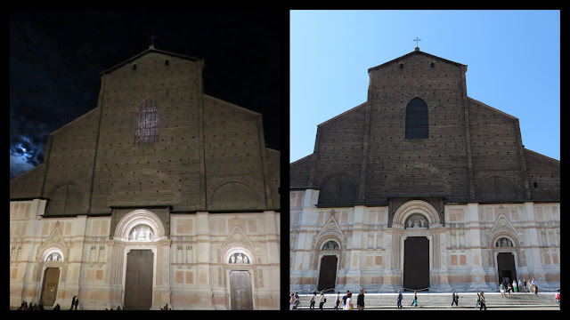 Weekend in Bologna - Piazza Maggiore and the Duomo both Day and Night