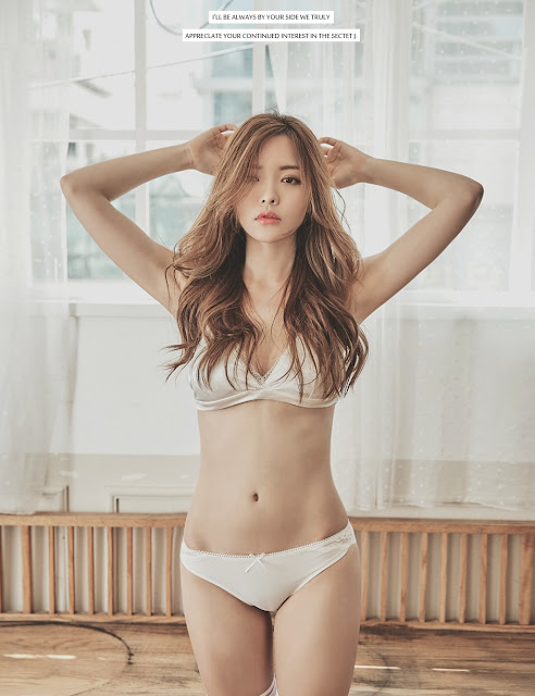 Jin Hee - Lingerie Set - very cute asian girl - girlcute4u.blogspot.com (4)