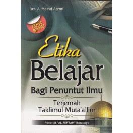 Jual Buku Etika Belajar Bagi Penuntut Ilmu | Agen Buku Aswaja Yogyakarta