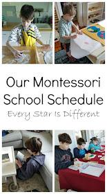 Our Montessori School Schedule