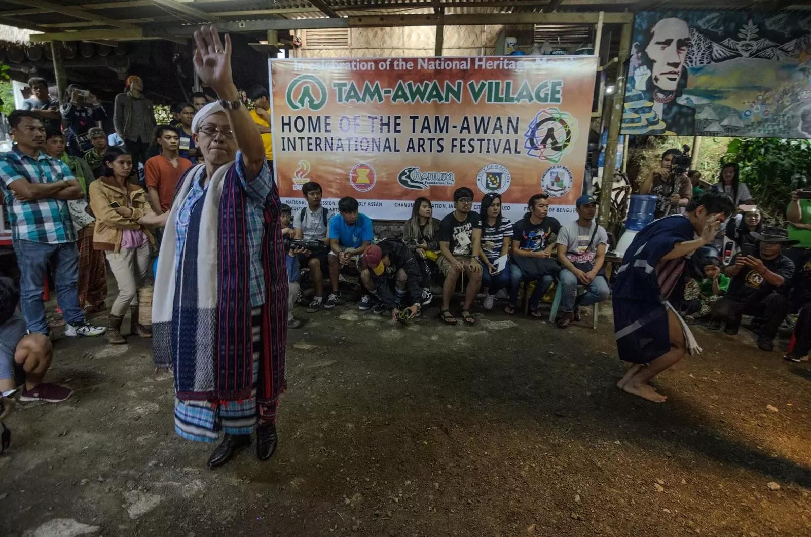 Bokod Benguet Cordillera Administrative Region Aten Tapis Costume