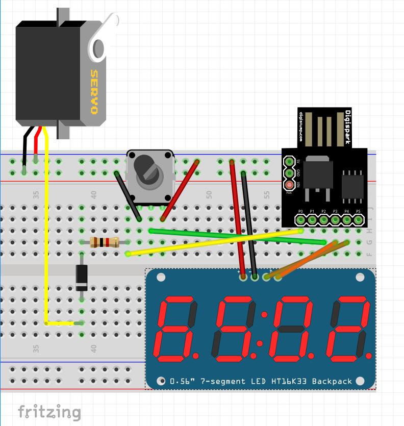 Flashing ATtiny85 with USBasp and Making a PWM Generator ~ Dror Gluska