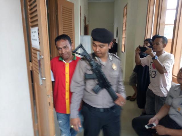 Terbukti Mengantongi Ganja, Untung di Tuntut 2 tahun 6 bulan penjara