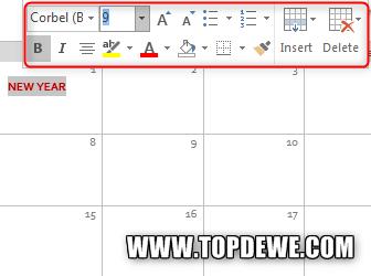 Cara membuatkalender di microsoft word