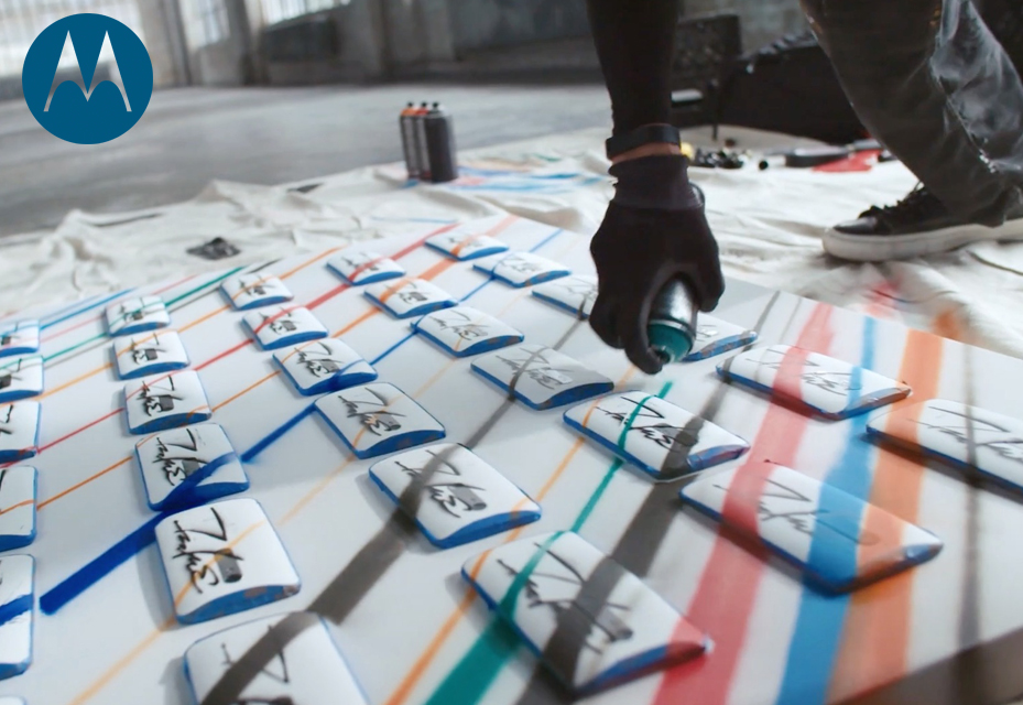 Futura And Moto X: Graffiti And Tech Meet Via Text