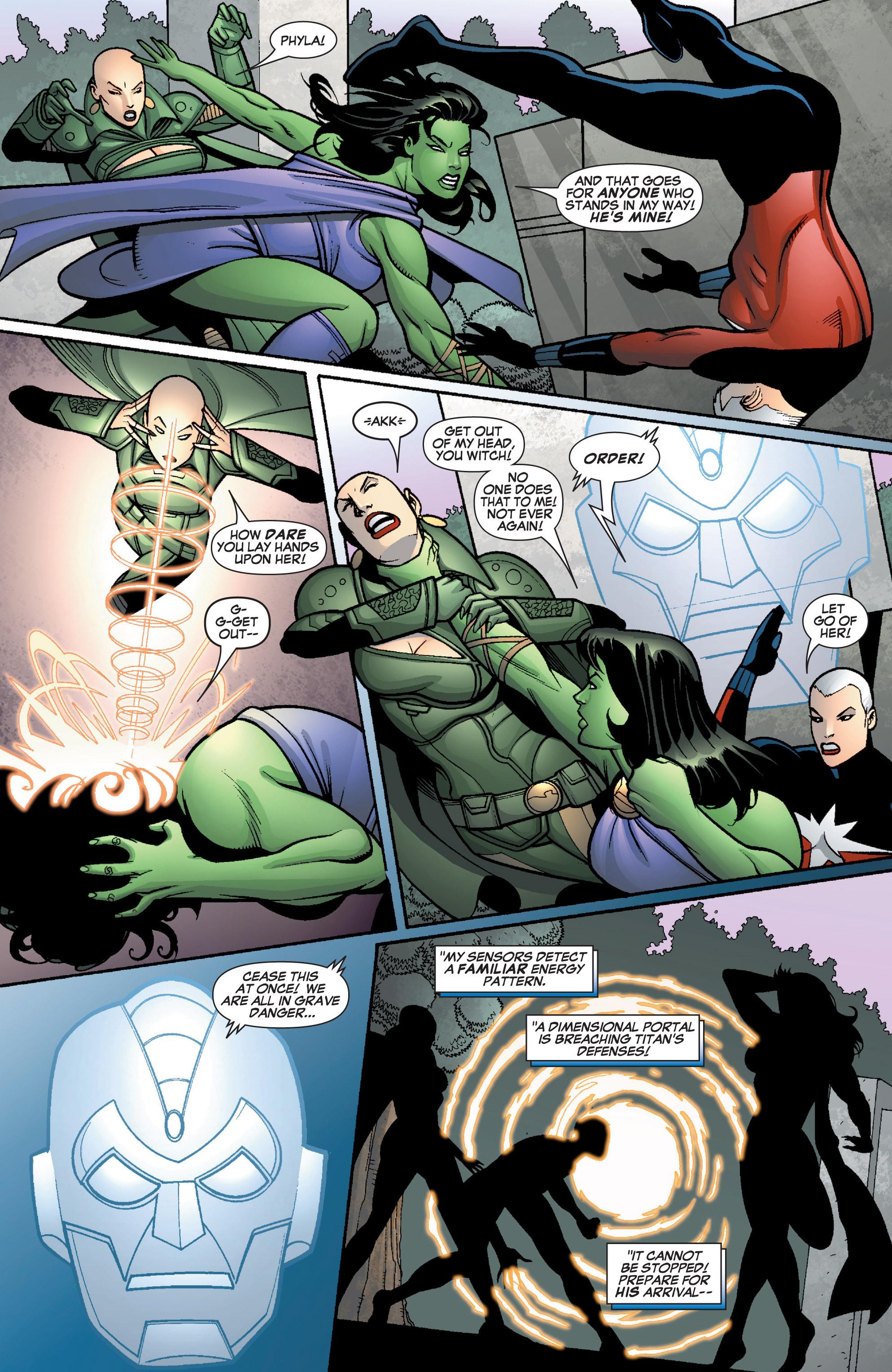 Read online She-Hulk (2005) comic -  Issue #12 - 18