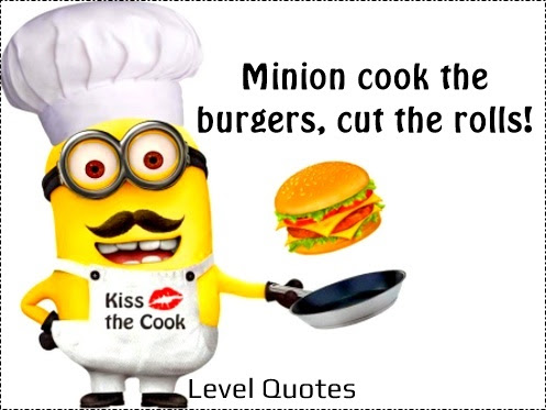 Minion Chef Quotes