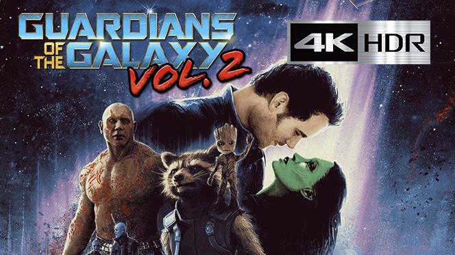 Guardianes de la galaxia Vol. 2 ( (2017REMUX 4K UHD [HDR] Latino-Castellano-Ingles