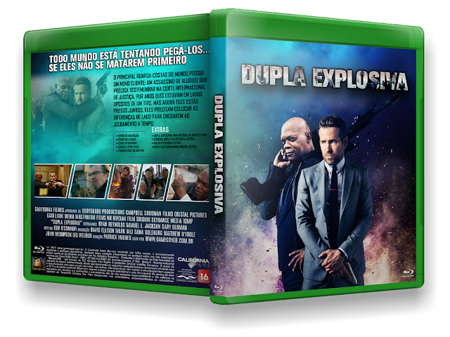 Capa Bluray Dupla Explosiva [Exclusiva]