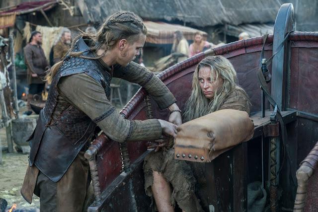 vikings, wikingowie, sezon 5B, hvitserk, kanał history, recenzja serialu