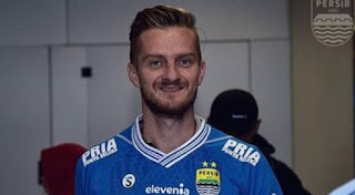 Persib Bandung Resmi Rekrut Rene Mihelic