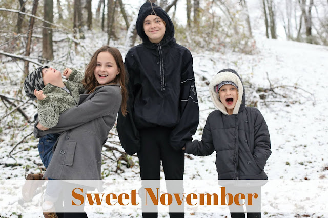 Sweet November - A Photo Recap