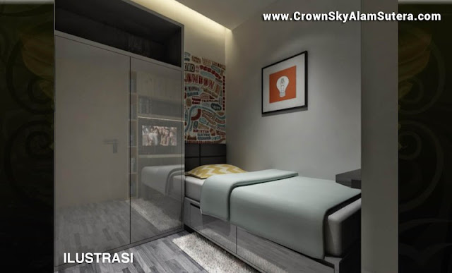Child Bedroom Design Crown Sky Apartemen