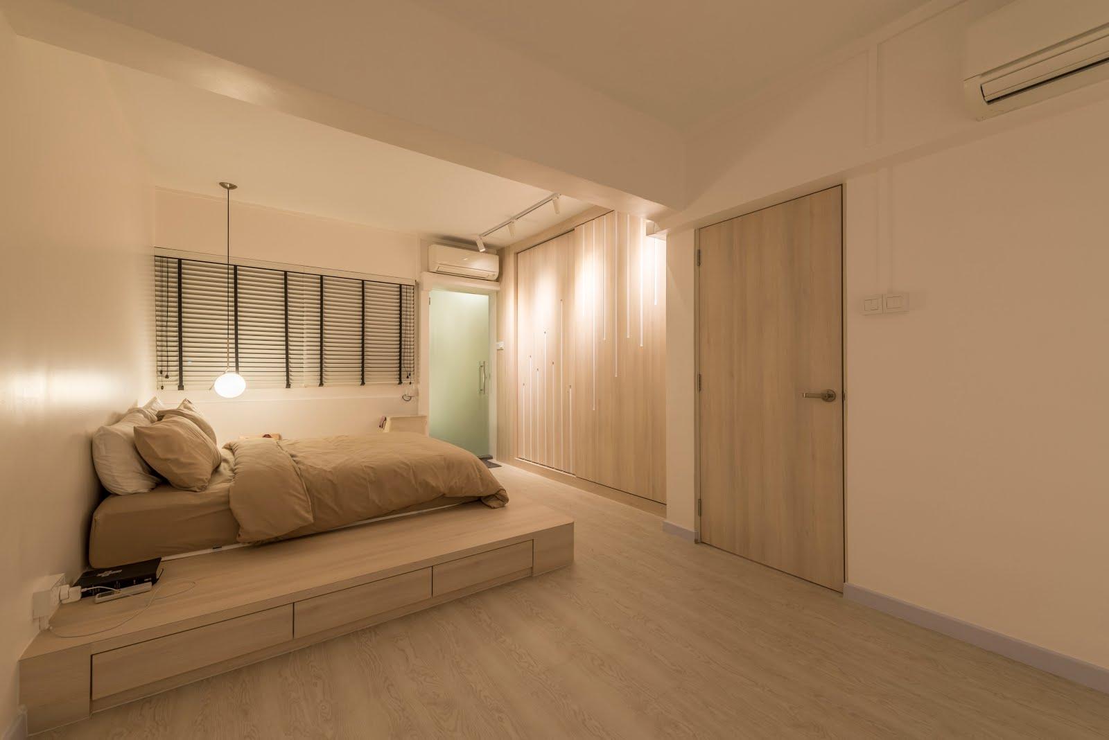 Interior Design Guide: Minimalist interior design , HDB 3 room on Minimalist Room Design  id=35411
