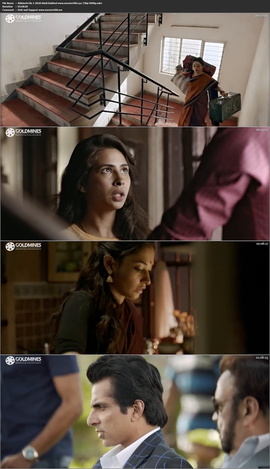 Abhinetri No 1 2018 Hindi Dubbed Full Movie HDRip 720p at movies500.info