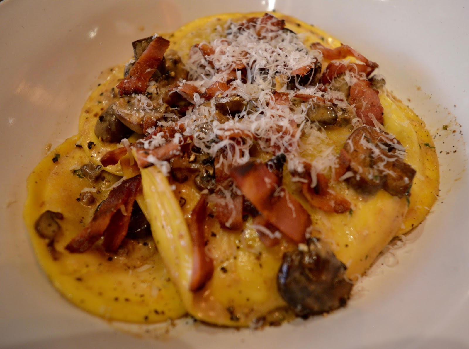 Bella Italia at intu Eldon Square Newcastle | Children's Menu Review - Christmas menu beef and Vanison tortelli