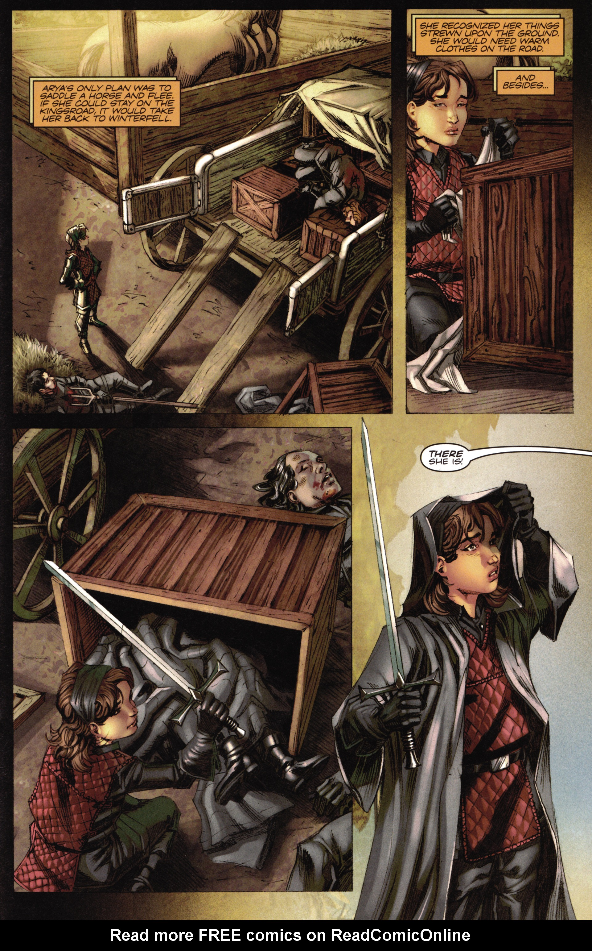 Read online A Game Of Thrones comic -  Issue #16 - 21