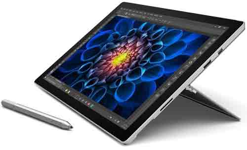 Microsoft Surface Pro 4 31,24 cm (12,3 Zoll) Tablet-PC (Intel Core i7, 8GB RAM, 256GB, Intel Iris, Windows 10 Pro)