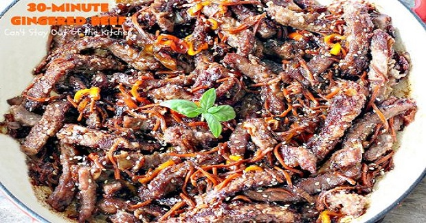 Gingered Beef Recipe