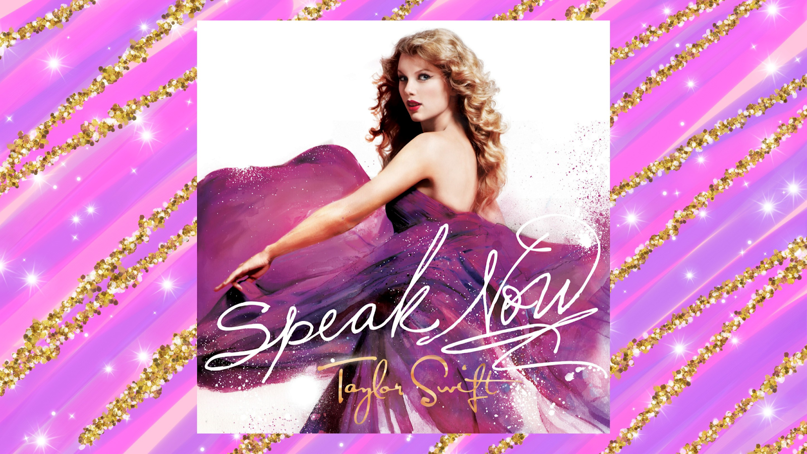 Taylor Swift Speak Now Album Art