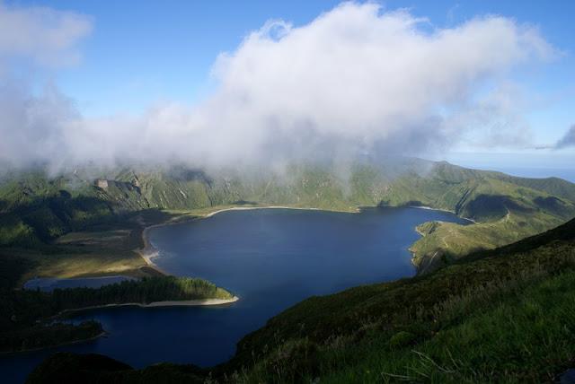 Miradouro da Serra Barrosa em Açores