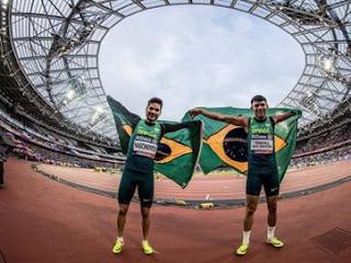 Brasil chega a oito ouros no Mundial de Atletismo Paralímpico; Velocista paraibano quebra recorde