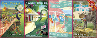 8 cozy mysteries from Berkley Prime Crime