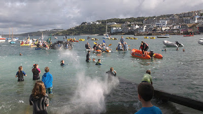 St Ives Harbour Raft Race 2017