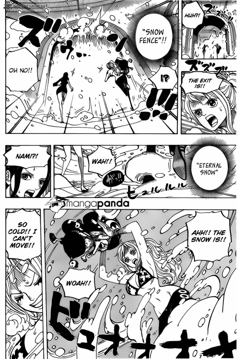 One Piece Ch 686: The Snow Woman of the Biscuit Ro