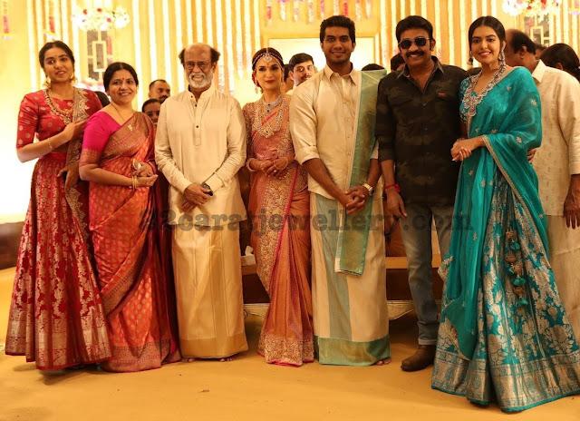 Rajashekar Family at Soundarya Wedding