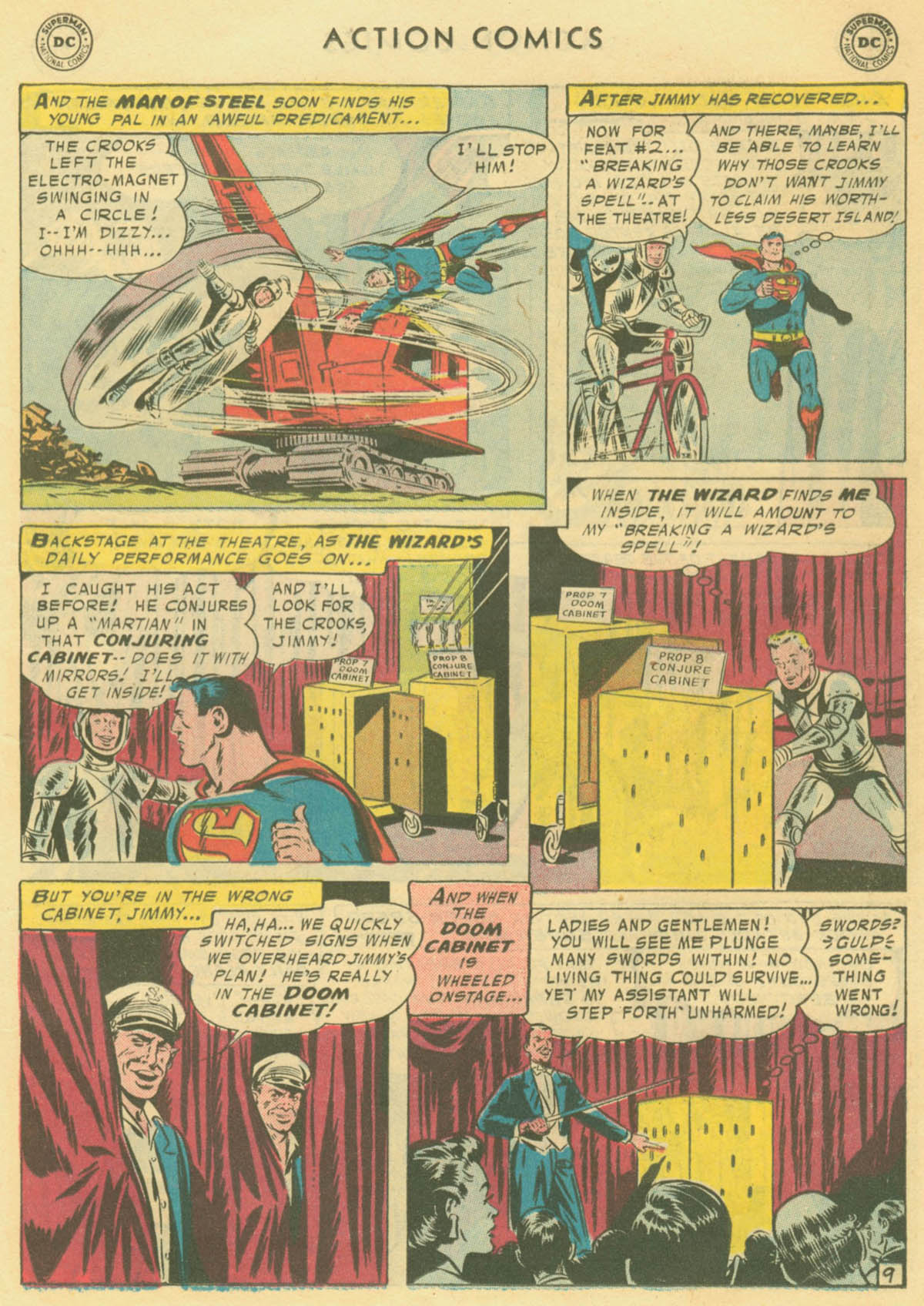 Read online Action Comics (1938) comic -  Issue #231 - 11